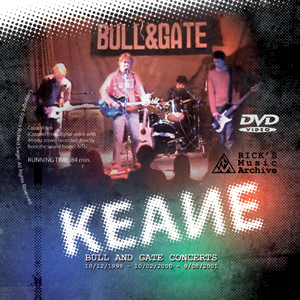 Keane band video DVD