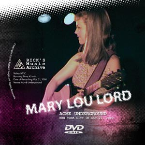 Mary Lou Lord plays live