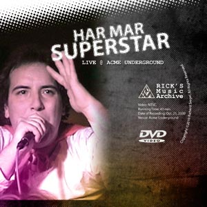 Har Mar Superstar plays live for OnlineTV.com