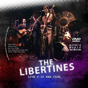 The Libertines play live for OnlineTV